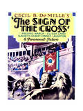 The Sign of the Cross - Movie Poster Reproduction