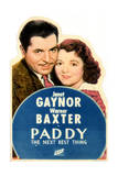 Paddy the Next Best Thing - Movie Poster Reproduction