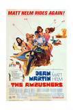 The Ambushers - Movie Poster Reproduction