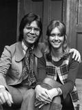 Cliff Richard and Olivia Newton-John