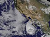 Tropical Storm Miriam Off the Coast of Baja California