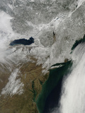 Snow Cover across the Northeastern United States