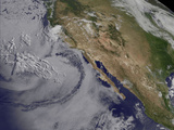 Satellite View of the Southern California June Gloom