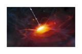 Artist's Concept of Quasars