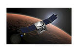 Artist Concept of Nasa's Mars Atmosphere and Volatile Evolution Mission