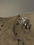 Nasa's Curiosity Mars Rover on Planet Mars