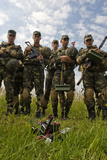 Armed Forces of Ukraine Soldiers Participate in a Field Training Exercise