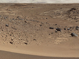Martian Valley on Planet Mars