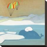 Mighty Dreams Tableau sur toile par Kristiana Pärn