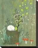 Midsummer Tableau sur toile par Kristiana Pärn