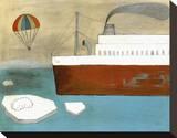 Save the Polar Bear Tableau sur toile par Kristiana Pärn