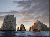 El Arco and sea stacks  Cabo San Lucas  Mexico