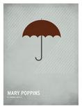 Mary Poppins Reproduction d'art par Christian Jackson
