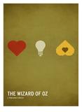 Wizard of Oz (kid version) Reproduction d'art par Christian Jackson