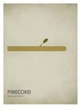 Pinocchio Reproduction d'art par Christian Jackson