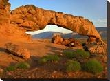 Sunset Arch  Escalante National Monument  Utah