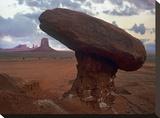 Mushroom Rock at North Window  Monument Valley  Arizona