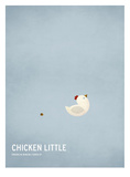 Chicken Little Reproduction d'art par Christian Jackson
