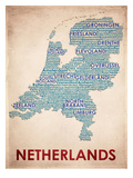 Netherlands Reproduction d'art