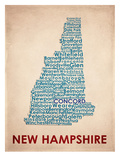 New Hampshire Reproduction d'art