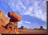 Mushroom Rock in Monument Valley Najavo Tribal Park  Arizona