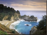 McWay Cove and McWay Falls  Julia Pfieffer-Burns State Park  California