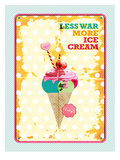 Less War More Ice Cream