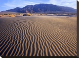 Tucki Mountain and Mesquite Flat Sand Dunes  Death Valley National Park  California