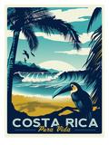 Costa Rica Reproduction d'art par Matthew Schnepf