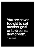 Dream a New Dream (CS Lewis)