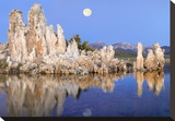 Full moon over Mono Lake  California