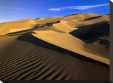 750 foot tall sand dunes  tallest in North America  Great Sand Dunes National Monument  Colorado