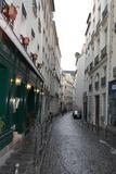 Paris France Alley 2 Art Print Poster