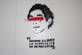 Paris France Graffiti Photo 2 Art Print Poster