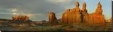Sandstone formations  Three Judges  Goblin Valley State Park  Utah