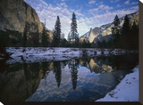 El Capitan and the Merced River  Yosemite NP  California