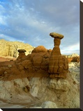 Toadstool Caprocks  Grand Staircase  Escalante National Monument  Utah