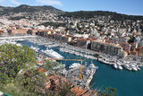 Nice France Cityscape Photo Art Print Poster