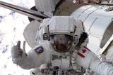 NASA Astronaut Spacewalk Space Photo Poster Print