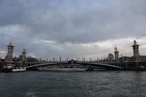 Bridge over the Seine Paris France Photo Art Print Poster