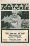 The Rough House Movie Roscoe Fatty Arbukle Buster Keaton Poster Print