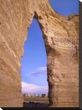 Arch in Monument Rocks National Landmark  Kansas