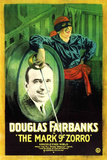 The Mark of Zorro Movie Douglas Fairbanks Poster Print