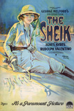 The Sheik Movie Rudolph Valentino Agnes Ayres Poster Print