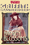 Broken Blossoms or The Yellow Man and the Girl Movie Lillian Gish Poster Print