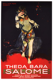 Salome Movie Theda Bara Poster Print