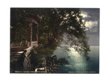 Abbazia  Moonlight Near the Baths  Istria  Austro-Hungary