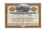 Rail Share Certificate