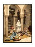 Luce Ben Aben  Moorish Women Preparing Couscous  Algiers