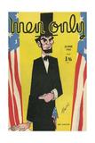 Cover Design  Men Only  Abraham Lincoln